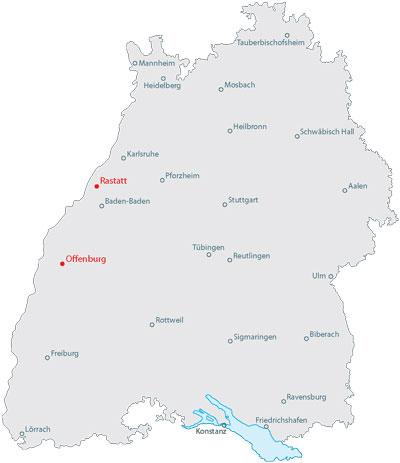 Thermen in baden württemberg karte
