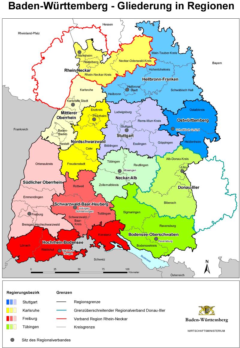 Großstädte In Baden Württemberg